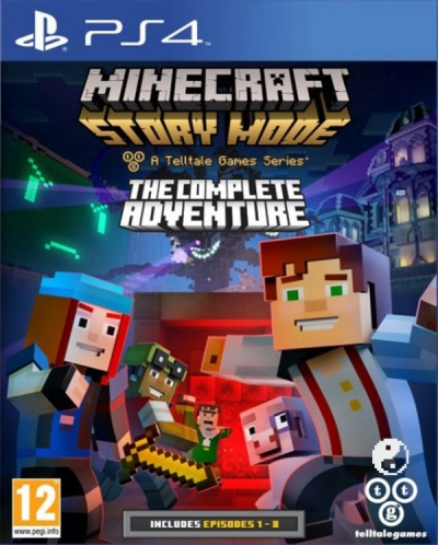 PS4 MINECRAFT STORY MODE: THE COMPLETE ADVENTURE