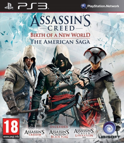 PS3 ASSASSIN'S CREED BIRTH OF A NEW WORLD - THE AMERICAN SAGA (2.EL)