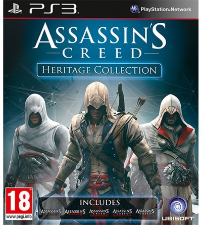 PS3 ASSASSIN'S CREED HERITAGE COLLECTION (2.EL)