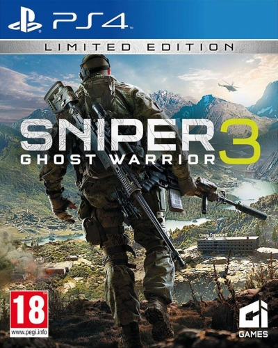 PS4 SNIPER GHOST WARRIOR 3
