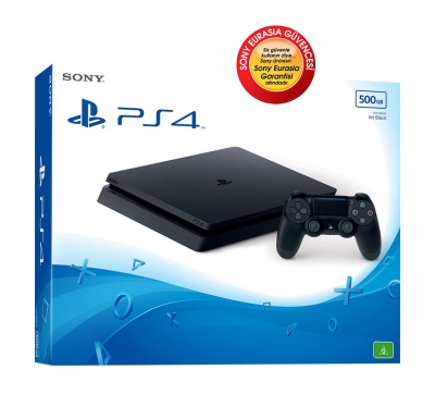 SONY PLAYSTATION 4 500GB SLIM SONY EURASIA GARANTILI