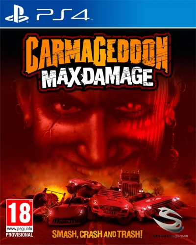 PS4 CARMAGEDDON MAX DAMAGE
