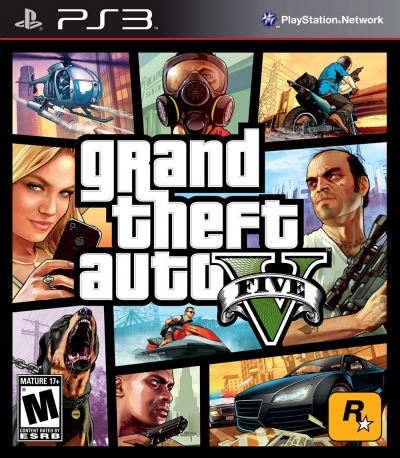 PS3 GTA 5 (2.EL)