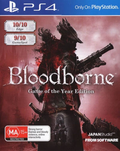 PS4 BLOODBORNE GAME OF THE YEAR EDITION TÜRKÇE