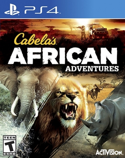 PS4 CABELAS AFRICAN ADVENTURES