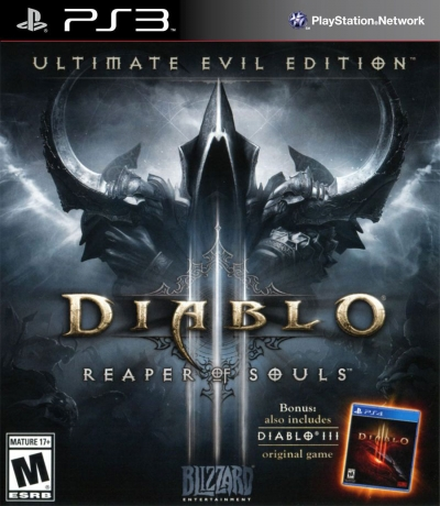 PS3 DIABLO 3 REAPER OF SOULS ULTIMATE EVIL EDITION (SIFIR)