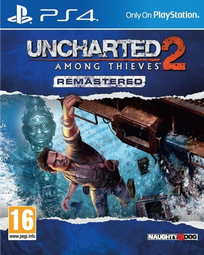 PS4 UNCHARTED 2 AMONG THIEVES REMASTERED TÜRKÇE (SIFIR)