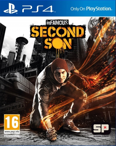 INFAMOUS SECOND SON TURKCE 2.EL