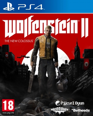 PS4 WOLFENSTEIN II: THE NEW COLOSSUS