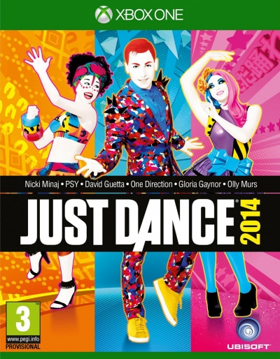 XBOX ONE JUST DANCE 2014 (SIFIR)