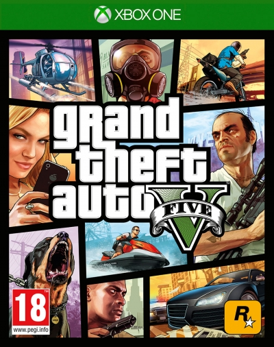 XBOX ONE GTA 5 (SIFIR)
