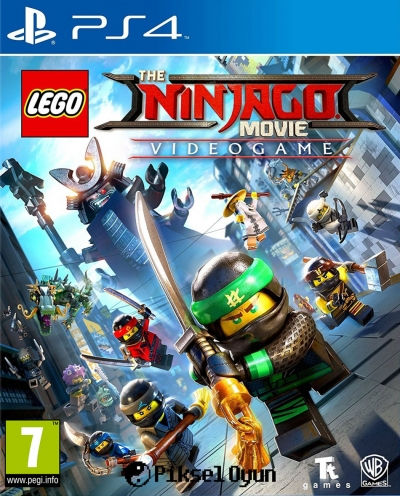 PS4 LEGO NINJAGO MOVIE