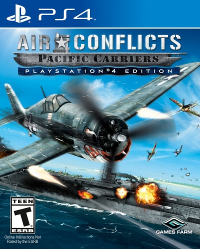 PS4 AIR CONFLICT PACIFIC CARRIERS