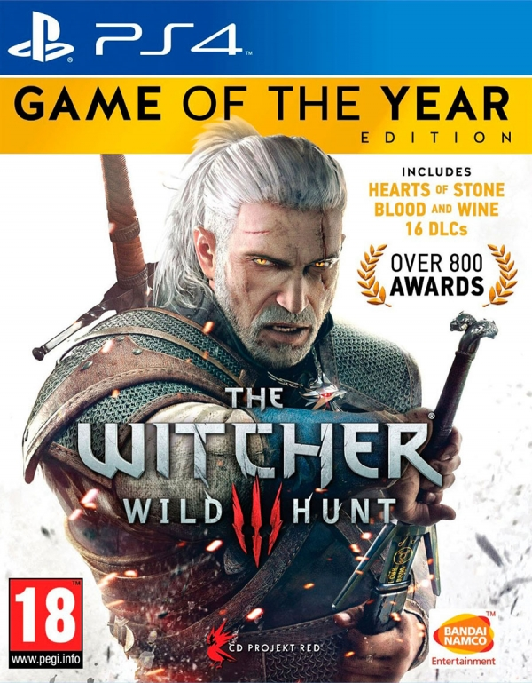 PS4 WITCHER 3: WILD HUNT GOTY TÜRKÇE