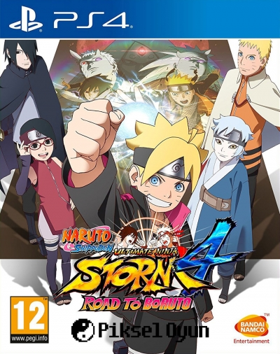 PS4 NARUTO STORM 4 ROAD TO BORUTO