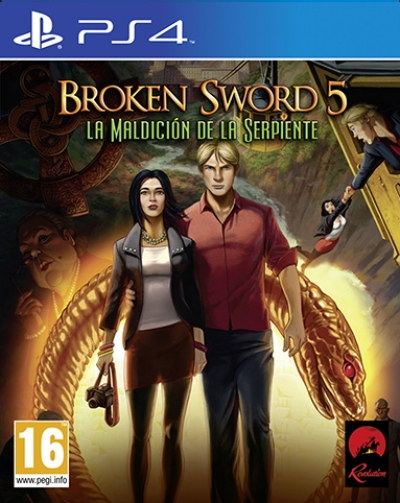 PS4 BROKEN SWORD 5