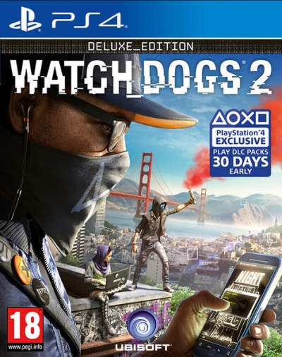 PS4 WATCH DOGS 2 DELUXE  EDITION