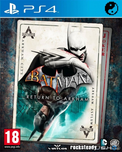 PS4 BATMAN RETURN TO ARKHAM (SIFIR)