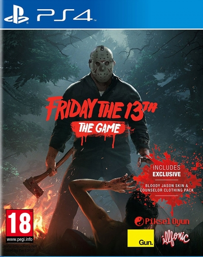 PS4 FRIDAY THE 13TH: THE GAME (13. CUMA)
